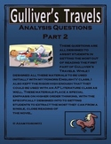 Gulliver's Travels Part 2 Analysis Questions