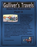 Gulliver's Travels Part 3 Analysis Questions