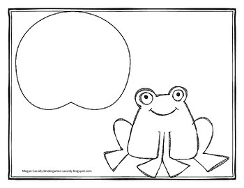 Gulp, Gulp Ribbit- Subtraction Frog Practice