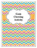Gum Chewing Activity