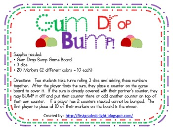 Gum Drop BUMP - 1.OA.6