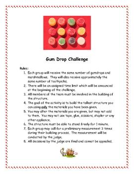 Gum Drop Challenge