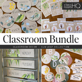 Eucalyptus GUM LEAF Classroom Decor BUNDLE