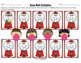 Gum-ball Syllable Activity