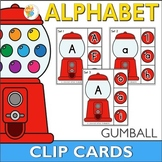 Gumball ABC Clip Cards