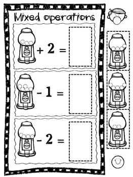 Gumball Addition & Subtraction