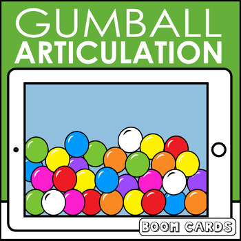 Gumball Articulation Boom Cards | Articulation | Speech Therapy