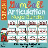 Gumball Articulation Mega Bundle | Teletherapy | Distance