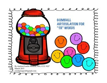 Gumball Articulation for TR words
