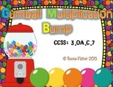 Gumball Bump Multiplication 3rd Grade 1-10