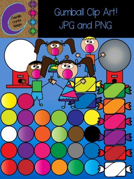 Gumball Circle Clip Art Color Images Ball