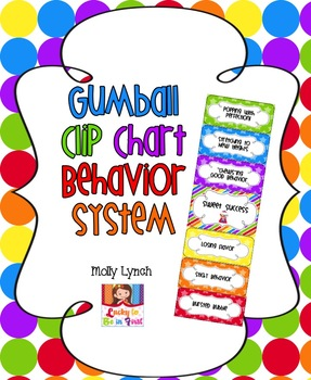 Gumball Clip Chart Behavior System