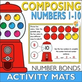 Gumball Composing Numbers 1-10 with Number Bonds