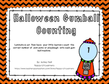 Gumball Counting 1-20