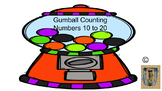 Gumball Counting 10 to 20