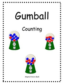 Gumball Counting Adapted Book
