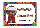 Gumball Counting Center: Numbers 1-10