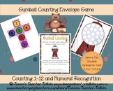 Gumball Counting Common Core Math Center {K.CC.A.1, K.CC.B.4}