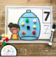 Gumball Counting Mats 1 - 20