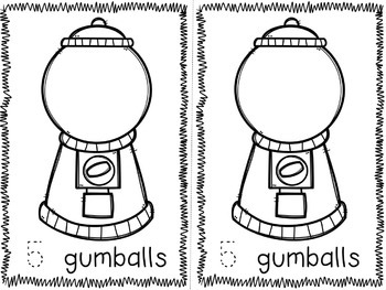 Gumball Counting Mats and More!