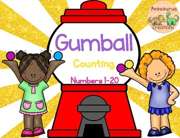Gumball Counting (Numbers 1-20)
