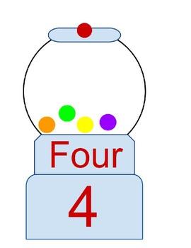 Gumball Counting Visual