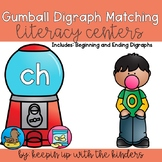 Gumball Digraph Matching Literacy Centers