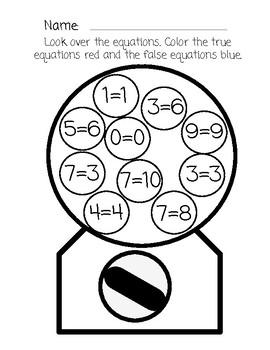 Gumball Equation True or False