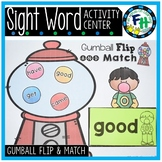 Gumball Flip & Match {Sight Word Center}