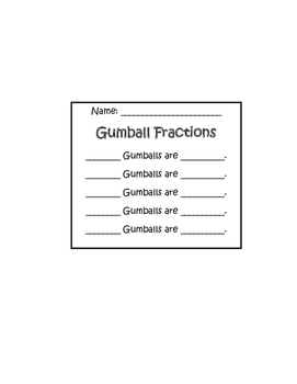 Gumball Fractions!