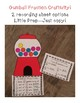Fractions: Worksheets, Center, and Craft