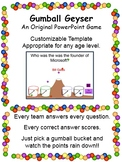 Gumball Geyser (A PowerPoint Game Template)