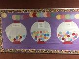 Gumball Goals Bulletin Board