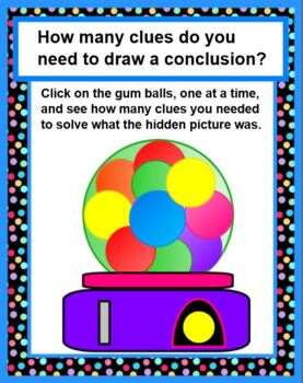 Gumball Goodies - Infer and Draw Conclusions