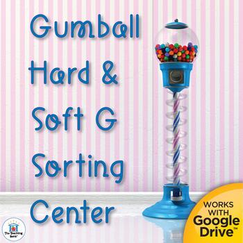 Hard G and Soft G Literacy Center