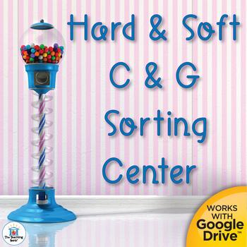 Hard/Soft C and Hard/Soft G Literacy Center Bundle