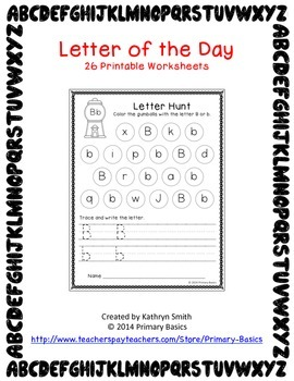 Letter of the Day