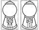 Gumball Letter or Beginning Sound Sort