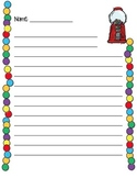 Gumball Lined Paper