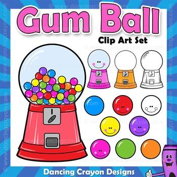 Gumball Machine Clip Art