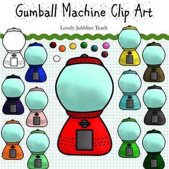 Gumball Machine Clip Art