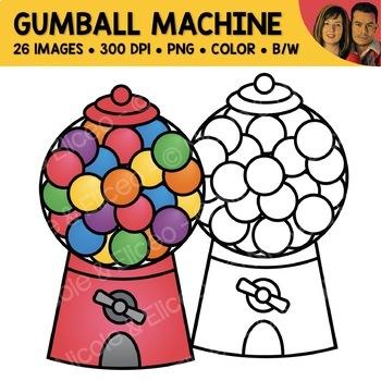 Gumball Machine Clipart