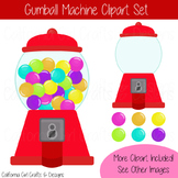Gumball Machine Clipart - Perfect for Classroom Crafts!