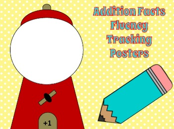 Math Fluency Tracking Posters Addition