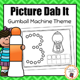 Gumball Machine Picture Dab It