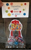 Gumball Machine Valentines Day Cards Printables