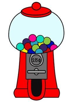 gumball machine and gumball clipart 18 images jpegs pngs rh teacherspayteachers com empty bubble gum machine clip art