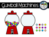 Gumball Machines Clipart - personal or commercial use