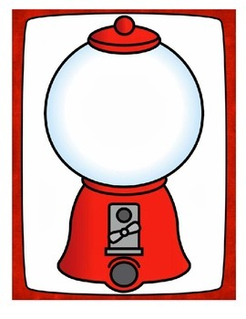 Gumball Machines to use with Grammar Gumball