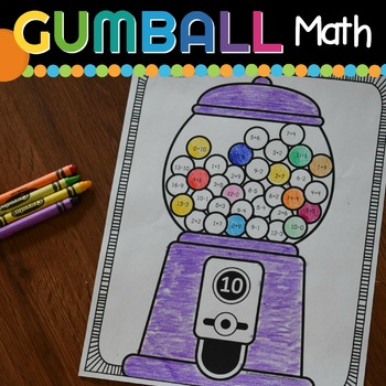 Gumball Math - Addition & Subtraction